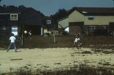 FORT BRAGG ARMY BASE FAMILY HOUSING PLAY AREAS