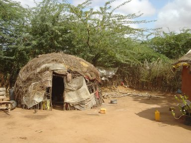Traditional Somali House