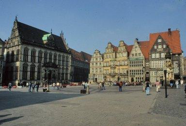 Roland am Rathaus Marktplatz, Bremen, Germany