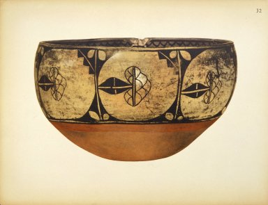 [Pueblo Indian Pottery; 50 reproductions in color from specimens in the famous collection of the Indian arts fund, Bowl]
