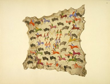 [Sioux Indian painting, Hunting Scenes]