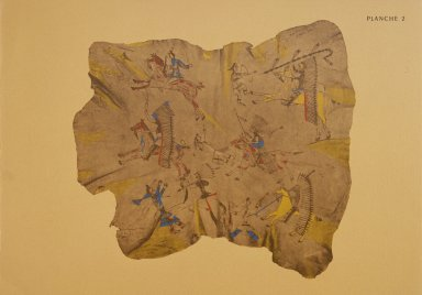 [Les peintres indiens d'Amérique, American Indian painters, American Horse Battles with the Crows]