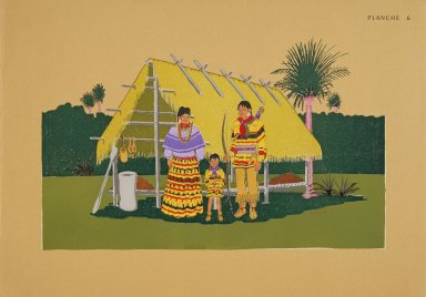 [Les peintres indiens d'Amérique, American Indian painters, The Seminole Family]