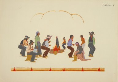 [Les peintres indiens d'Amérique, American Indian painters, Stomp Dance]