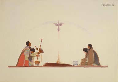 [Les peintres indiens d'Amérique, American Indian painters, Prayer for the Mother]