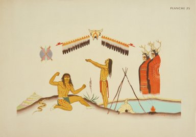 [Les peintres indiens d'Amérique, American Indian painters, The Vision]