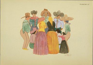 [Les peintres indiens d'Amérique, American Indian painters, Modern Navajo Sing]