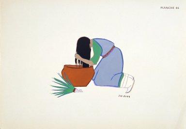[Les peintres indiens d'Amérique, American Indian painters, Yucca Shampoo]