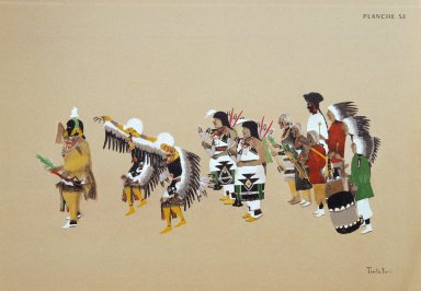 [Les peintres indiens d'Amérique, American Indian painters, Cochiti Eagle Dance]