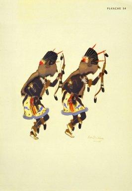 [Buffalo Dance, Les peintres indiens d'Amérique, American Indian painters]