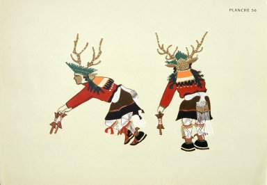 [Les peintres indiens d'Amérique, American Indian painters, Deer Dance]