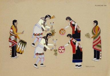 [Les peintres indiens d'Amérique, American Indian painters, Sun Basket Dance]