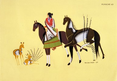 [Les peintres indiens d'Amérique, American Indian painters, Let Them Live]