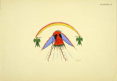 [Les peintres indiens d'Amérique, American Indian painters, The Peyote Bird]