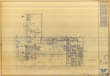 Eighth Mezzanine Floor Plan West Half