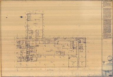 Eighth Floor Plan West Half (A-22)