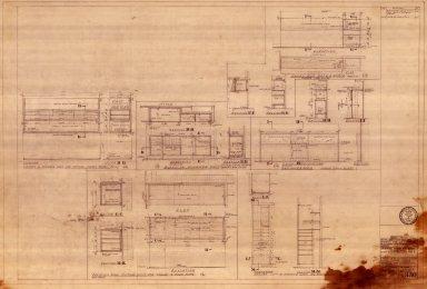 Cabinet Work in Corner 2 Room Suites, Typical Corner Rooms & One Room Suites in Hotel (A 330)