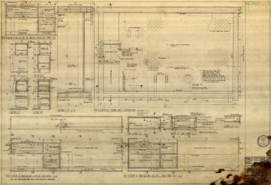 Cabinet Work for Typical Guest Rooms & Rm No. 9 also Det. of Stan. Radio & Telephone (A 332)