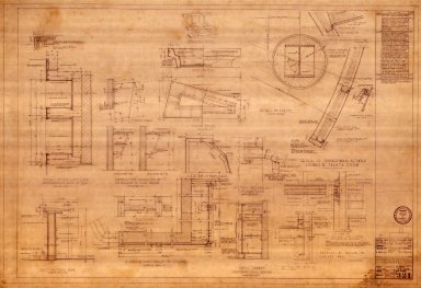 Details of French Room, Lounge, Powder & Coat Rooms (A 321)