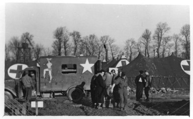 """Lison, """"Beached Bessie"""", A French Ambulance"""