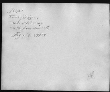 Rapid Transit Photographs -- Box 12, Folder 06 (August 10, 1926 - September 10, 1926) -- print, 1926-08-10, 2:17 P.M. (back of photograph)