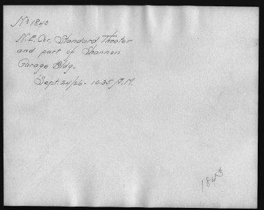 Rapid Transit Photographs -- Box 12, Folder 16 (September 24, 1926) -- print, 1926-09-24, 10:35 A.M. (back of photograph)