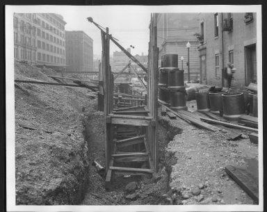 Rapid Transit Photographs -- Box 12, Folder 17 (October 5, 1926 - October 14, 1926) -- print, 1926-10-05, 11:45 A.M.