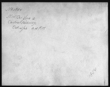 Rapid Transit Photographs -- Box 12, Folder 17 (October 5, 1926 - October 14, 1926) -- print, 1926-10-14, 3:15 P.M. (back of photograph)