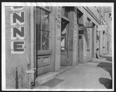 Rapid Transit Photographs -- Box 12, Folder 18 (October 14, 1926 - October 15, 1926) -- print, 1926-10-14, 3:21 P.M.