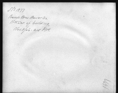 Rapid Transit Photographs -- Box 12, Folder 19 (October 15, 1926 - November 8, 1926) -- print, 1926-11-08, 2:15 P.M. (back of photograph)