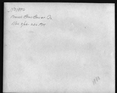 Rapid Transit Photographs -- Box 12, Folder 20 (November 8, 1926) -- print, 1926-11-08, 2:30 P.M. (back of photograph)