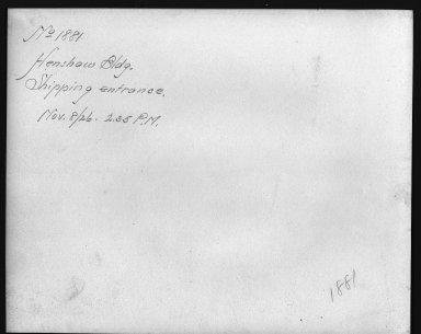 Rapid Transit Photographs -- Box 12, Folder 20 (November 8, 1926) -- print, 1926-11-08, 2:35 P.M. (back of photograph)