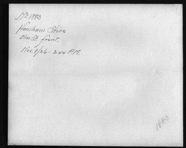 Rapid Transit Photographs -- Box 12, Folder 20 (November 8, 1926) -- print, 1926-11-08, 2:44 P.M. (back of photograph)