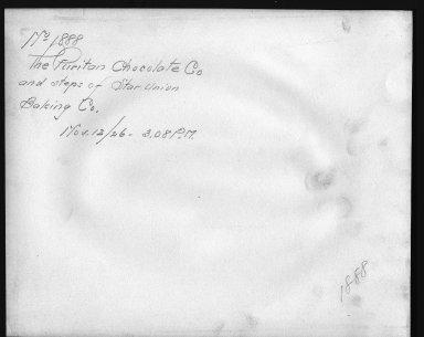 Rapid Transit Photographs -- Box 12, Folder 22 (November 12, 1926) -- print, 1926-11-12, 3:08 A.M. (back of photograph)