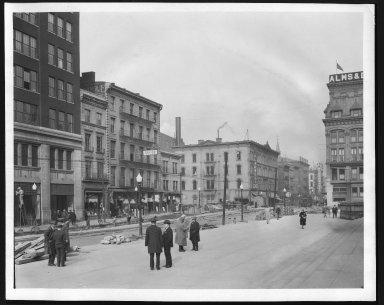 Rapid Transit Photographs -- Box 12, Folder 23 (November 12, 1926 - November 22, 1926) -- print, 1926-11-13, 10:35 A.M.