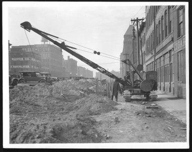 Rapid Transit Photographs -- Box 12, Folder 23 (November 12, 1926 - November 22, 1926) -- print, 1926-11-13, 11:40 A.M.