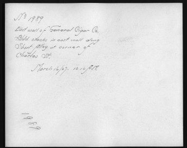 Rapid Transit Photographs -- Box 12, Folder 32 (March 8, 1927 - March 16, 1927) -- print, 1927-03-16, 10:10 A.M. (back of photograph)