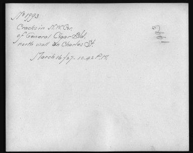 Rapid Transit Photographs -- Box 12, Folder 33 (March 16, 1927 - April 6, 1927) -- print, 1927-03-16, 10:42 A.M. (back of photograph)
