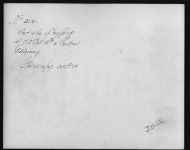 Rapid Transit Photographs -- Box 12, Folder 33 (March 16, 1927 - April 6, 1927) -- print, 1927-03-16, 3:12 P.M. (back of photograph)