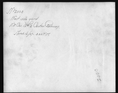 Rapid Transit Photographs -- Box 12, Folder 33 (March 16, 1927 - April 6, 1927) -- print, 1927-03-16, 3:20 P.M. (back of photograph)