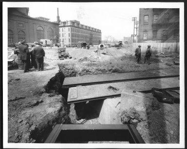 Rapid Transit Photographs -- Box 12, Folder 35 (April 11, 1927 - April 27, 1927) -- print, 1927-04-11, 12:27 P.M.