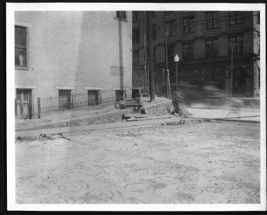 Rapid Transit Photographs -- Box 12, Folder 35 (April 11, 1927 - April 27, 1927) -- print, 1927-04-27, 3:35 P.M.