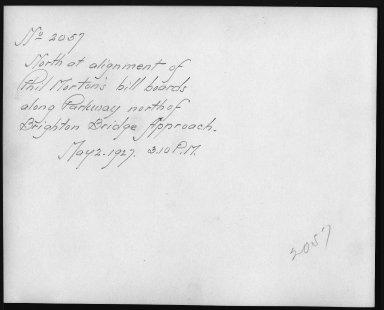 Rapid Transit Photographs -- Box 12, Folder 36 (May 2, 1927) -- print, 1927-05-02, 3:10 P.M. (back of photograph)