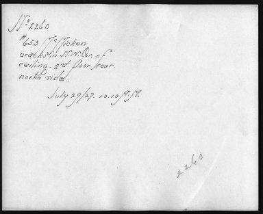 Rapid Transit Photographs -- Box 12, Folder 56 (July 29, 1927) -- print, 1927-07-29, 10:10 A.M. (back of photograph)