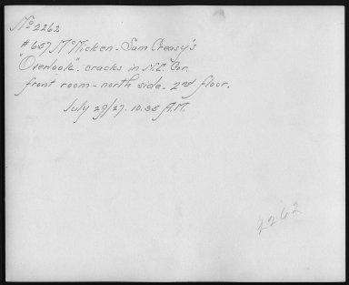 Rapid Transit Photographs -- Box 12, Folder 56 (July 29, 1927) -- print, 1927-07-29, 10:35 A.M. (back of photograph)