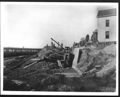 Rapid Transit Photographs -- Box 12, Folder 57 (October 21, 1927) -- print, 1927-10-21, 2:28 P.M.