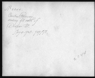 Rapid Transit Photographs -- Box 12, Folder 58 (May 4, 1928 - May 7, 1928) -- print, 1928-05-04, 9:39 A.M. (back of photograph)