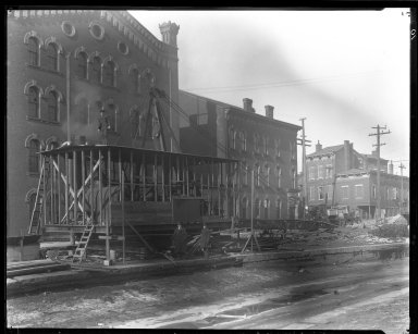 Rapid Transit Photographs -- Box 13, Folder 02 (January 10, 1920 - February 13, 1920) -- negative, 1920-01-10, 10:55 A.M.