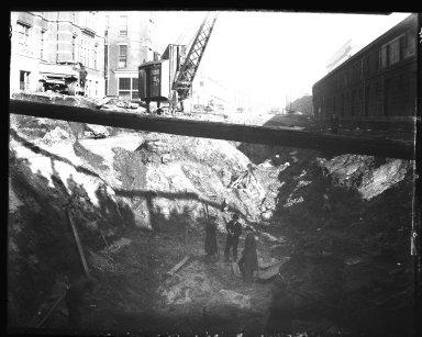 Rapid Transit Photographs -- Box 13, Folder 02 (January 10, 1920 - February 13, 1920) -- negative, 1920-02-13, 3:00 P.M.