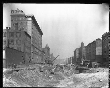 Rapid Transit Photographs -- Box 13, Folder 12 (March 30, 1920 - April 3, 1920) -- negative, 1920-04-01, 2:39 P.M.